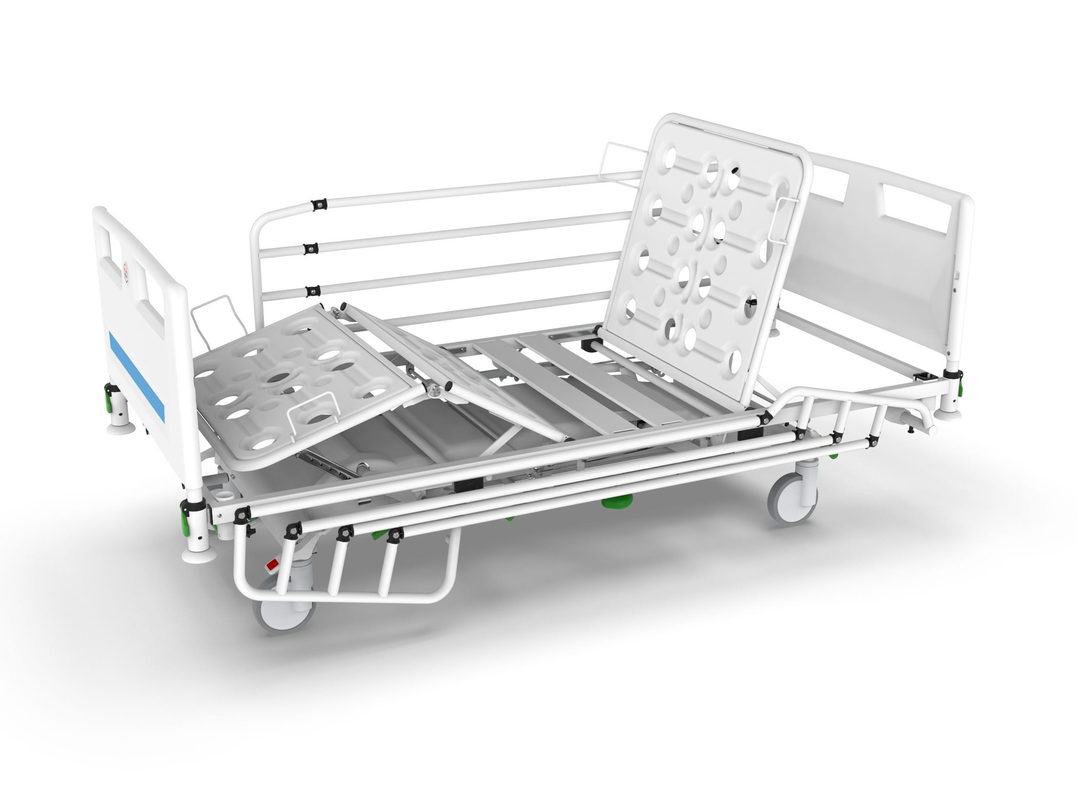 Mechanical hospital bed SUPERTA H
